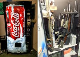 Old Pepsi Vending Machine For Sale Custom Soda Machine Gun Safes 48 Brands BEACH