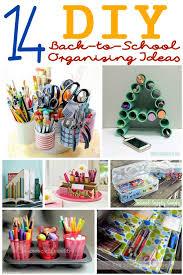 14 diy organizing ideas for back to school