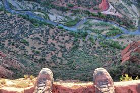 Image result for looking down from a cliff