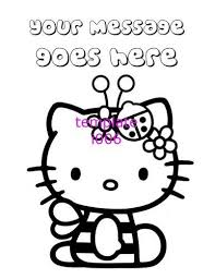 Enter youe email address to recevie coloring pages in your email daily! Hello Kitty Personalized Coloring Pages Pdf File Only Hello Kitty Colouring Pages Kitty Coloring Hello Kitty Coloring