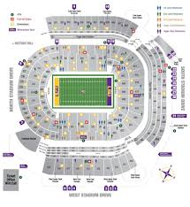 Auburn Seating Chart With Rows 2016 Tiger Stadium Seating Chart Lsu Lsu Tigers Football
