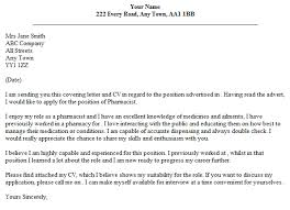 Compounding Pharmacy Technician Cover Letter