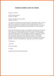 Thank You Letter For Donations Custom Donation Letter Sample For Charity Thank You Letters Documents Pdf