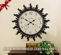 oversized outdoor clock howard miller oversize indoor outdoor wall clock 625543 sunburst oversized outdoor wall clocks oversized outdoor clock