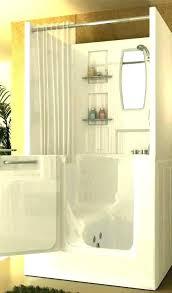 walk in bathtub shower curtain tub combo home depot best ideas marine