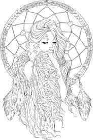 Small Picture lineartsy free adult coloring page dreamcatcher lined Projects
