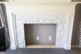 How To Make A Simple Faux Fireplace  Indoor Outdoor Home Designs How To Build A Faux Fireplace