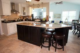 Kitchen Island With Granite Countertop New Kitchen In Newport News Virginia Has Custom Cabinets Kitchen