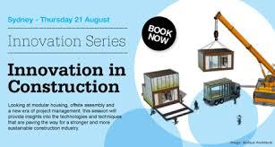 Webinar Innovation Series Innovation In Construction Course