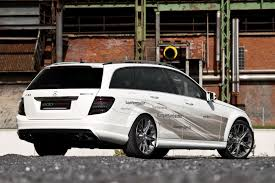 Mercedes C63 Wagon in Edo Competition spec - Daily Tuning