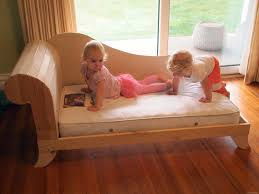 trying out the toddler fainting couch sawdust and embryos