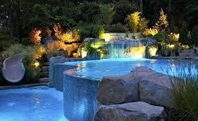 inground pool waterfalls. Pool Waterfalls Ideas For Inground Pools Swimming D