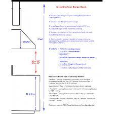 Hood Range Installation Chimney Shortening Kit Zline Kitchen