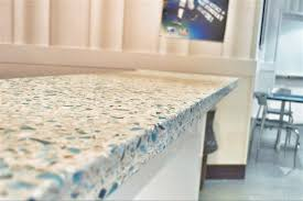creative home design tempting recycled glass countertops cost beautiful stain contemporary in fascinating recycled glass