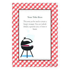 barbecue invitation template free bbq party invitation template free general birthday templates