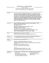 Download Job Resume Format Resume Template Directory
