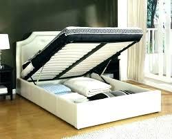 Modern Low Bed Modern Low Bed Frame Platform Beds White King Size ...