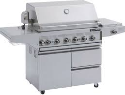Bbq Galore Outdoor Kitchen Barbeques Galore Grand Turbo 6 Burner Freestanding Gas Grill