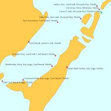 Pumpkin Key South End Card Sound Florida Tide Chart