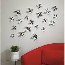 umbra wall flower wall decor set of 20