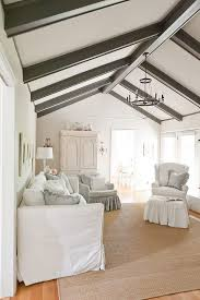 white painted ceiling beams living room traditional with sisal rug beach style area rugs keystrokecapture org