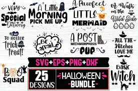 Check out our boo tiful svg selection for the very best in unique or custom, handmade pieces from our collage shops. 25 Halloween Designs Bundle Graphic By Svg In Design Creative Fabrica