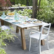 crate barrel outdoor furniture. simple outdoor riviera rectangular marble top dining table  crate and barrel in outdoor furniture