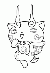 It ran a second time from september 3, 2017 to november 1, 2017. Yo Kai Watch Coloring Pages