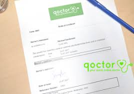 How To Get A Doctors Note For Stress Leave Get A Medical Certificate Online Qoctor Your Quick