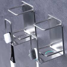 2021 stainless steel toothbrush holder