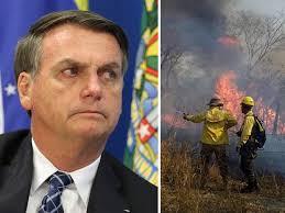 Resultado de imagen para incendio del amazonas y bolsonaro