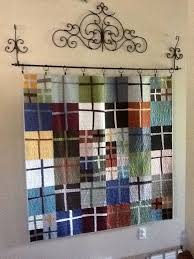 My liberated cross quilt after it was quilted. I quilted it with random ...