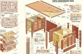 Executive desk woodworking plans Mar 9 2014 A quick video of the build  process of a