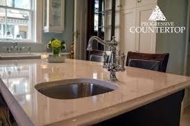 cambria torquay quartz counter undermount kitchen sink clean
