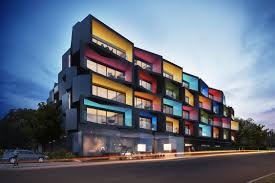 Spectrum Apartments break the rules with its geometrically articulated  faade