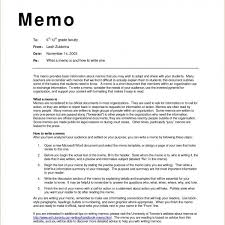 Memo Example For Business Business Memo Examples Inter Office Sample Wednesday May