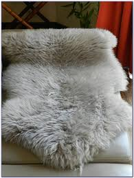 grey sheepskin rug nz