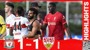 Highlights: Liverpool 1-1 VfB Stuttgart | Mane nets on Konate's Reds debut  - YouTube