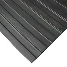 I need a new rubber gate mat for my 2009 exiss horse trailer. Rubber Cal Corrugated Wide Rib 3 Ft X 8 Ft Black Rubber Flooring 24 Sq Ft 03 167 W Wr 08 The Home Depot