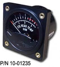 cht gauges from aircraft spruce westach cylinder head temperature cht gauges