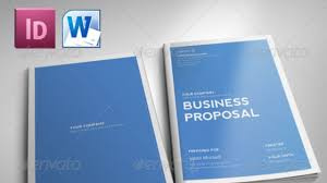 Free Proposal Template Indesign Proposal Template Free Business Template 1