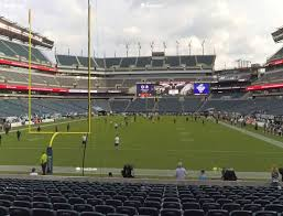 Gillette Interactive Seating Chart Lincoln Financial Field Section 130 Seat Views Seatgeek With
