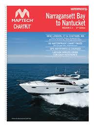 New Gear Maptech Waterproof Chartbooks Sail Magazine