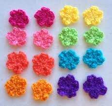Small Crochet Flower Pattern Cool Decorating