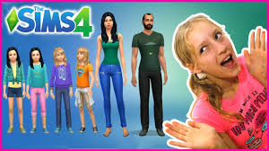 Switching Outfits in my Sims Family - YouTube