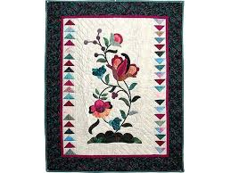 Jacobean Quilt -- marvelous meticulously made Amish Quilts from ... & Jacobean Appliqued Wall Hanging Photo 1 ... Adamdwight.com