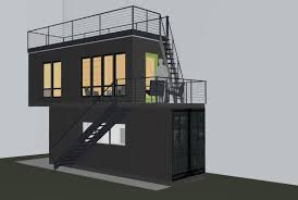 container office building. This Project Is Driven By Material Reuse, Living Small, And Building Green. There Exists A Backyard Garage/shed Original To The 1928 House That \u201c Container Office