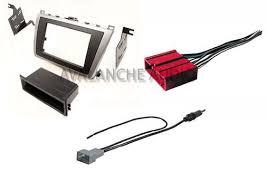 mazda 6 radio kit double din mazda 6 2009 2013 car stereo radio dash install kit w wiring harness