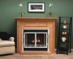 diy gas fireplace doors