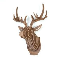 deer head wall decor animal head wall decor wooden deer head for wall decoration creative style deer head wall decor
